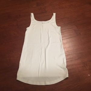 White old navy maternity top